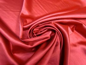 Great value Stretch Satin- Lady Bird Red #5231 available to order online New Zealand