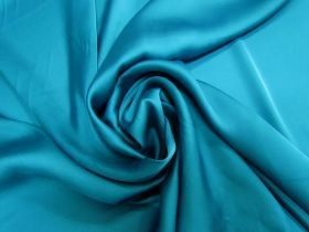 Great value Satin Chiffon- Mystic Teal #5233 available to order online New Zealand