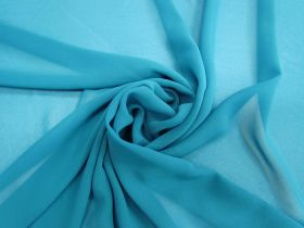 Great value Lightweight Georgette- Jade Blue #3557 available to order online New Zealand