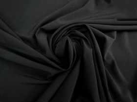 Great value Stretch Crepe De Chine- Black #5256 available to order online New Zealand