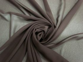 Great value Lightweight Georgette- Chocolate Bar #3556 available to order online New Zealand
