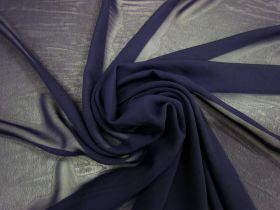 Great value Chiffon- Opulent Navy #3563 available to order online New Zealand