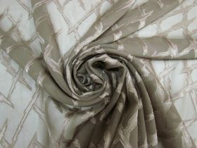 Great value Lightning Strike Chiffon- Taupe #5261 available to order online New Zealand