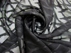 Great value Lightning Strike Chiffon- Black #5260 available to order online New Zealand