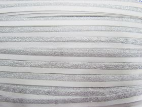 Great value Sparkle Metallic Silver Fold Over Elastic #021 available to order online New Zealand