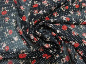 Great value Rosy Viscose Chiffon #5279 available to order online New Zealand