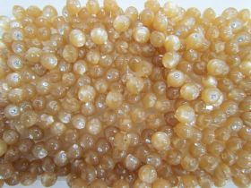 Great value 8mm Button- FB219- Beige Diamante available to order online New Zealand
