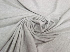 Great value Soft Rayon Cotton Blend Jersey- Grey Marle #5336 available to order online New Zealand