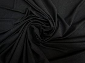 Great value Soft Rayon Cotton Blend Jersey- Black #5338 available to order online New Zealand