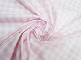 Great value Gingham Cotton- Baby Pink #5339 available to order online New Zealand