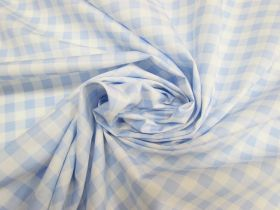 Great value Gingham Cotton- Blue #5342 available to order online New Zealand
