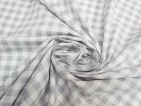 Great value Gingham Cotton- Grey #5344 available to order online New Zealand