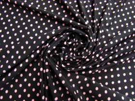 Great value Polka Dot Jersey- Pink On Black #5353 available to order online New Zealand
