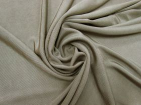 Great value Shiny Ribbed Jersey- Seed Brown #5355 available to order online New Zealand