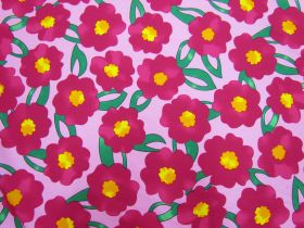 Great value Pop Flower Cotton- Pink #5375 available to order online New Zealand