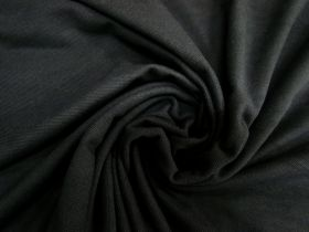 Great value Cotton Pique Knit- Mineral Black #5376 available to order online New Zealand