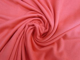 Great value Cotton Pique Knit- Pink Grapefruit #5377 available to order online New Zealand