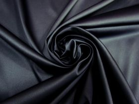 Great value Heavyweight Stretch Satin- Navy #5396 available to order online New Zealand
