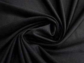 Great value Micro Mesh Moisture Management Sports Knit- Black #1662 available to order online New Zealand