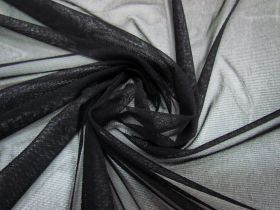 Great value Soft Stretch Mesh- Black #1692 available to order online New Zealand