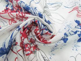 Great value Artist Floral Silk #3887 available to order online New Zealand