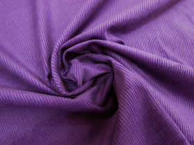 Great value 7 Wale Cotton Corduroy- Violet Purple #5453 available to order online New Zealand