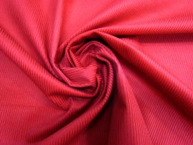Great value 7 Wale Cotton Corduroy- Candy Apple Red #5454 available to order online New Zealand