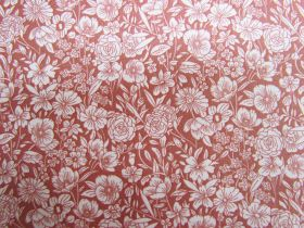 Great value Secret Garden Cotton- Paprika PW1290 available to order online New Zealand