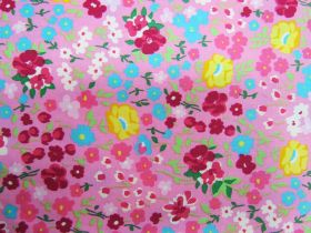 Great value Flower Festival Cotton- Pink PW1312 available to order online New Zealand