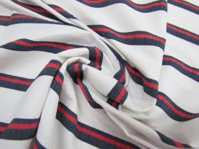 Great value Coastline Stripe Lightweight Stretch Woven #1760 available to order online New Zealand