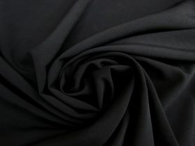 Great value Double Faced Chiffon- Black #3958 available to order online New Zealand