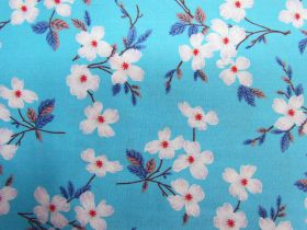 Great value Blossoming Cotton- Aqua PW1316 available to order online New Zealand
