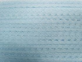 Great value 19mm Ribbon Insertion Lace Trim- Baby Blue #536 available to order online New Zealand