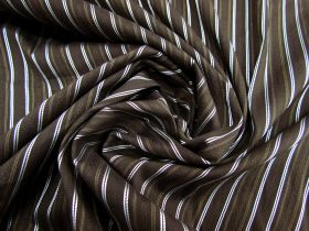Great value Jacquard Stripe Stretch Cotton #1792 available to order online New Zealand