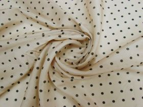 Great value Chai Spot Silk Cotton Blend Voile #5466 available to order online New Zealand