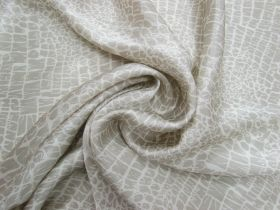 Great value Subtle Stone Textured Viscose Satin #4081 available to order online New Zealand