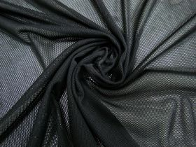 Great value Polyester PBT Micro Fishnet Mesh- Black #4090 available to order online New Zealand