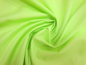 Great value Poplin- Lime available to order online New Zealand