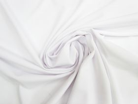 Great value Matte Spandex Knit- White #4119 available to order online New Zealand