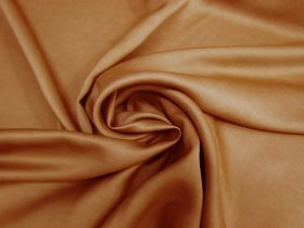 Great value Delustered Crepe Back Satin- Rust #5511 available to order online New Zealand