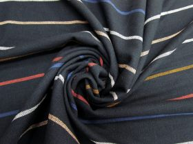 Great value Ruby Star Society- Warp Weft Heirloom Cotton- Chore Coat Stripe- Navy available to order online New Zealand