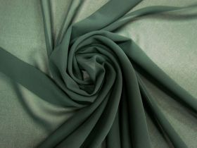 Great value Georgette- Pine Green #5542 available to order online New Zealand