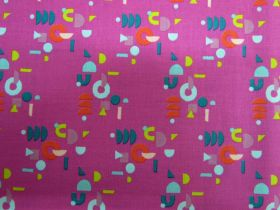 Great value Ruby Star Society Cotton- Adorn- Puzzling- Berry #16 available to order online New Zealand
