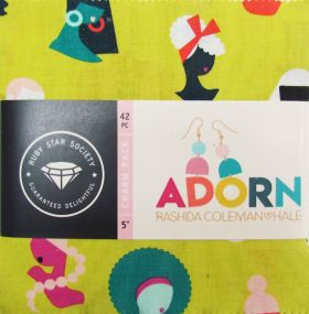 Great value Ruby Star Society- Adorn Charm Pack available to order online New Zealand