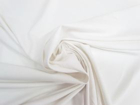Great value Lightweight Cotton Spandex- Gentle White #5546 available to order online New Zealand
