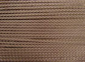 Great value 6mm Plaited Braid Trim- Medium- Bronze Beige available to order online New Zealand