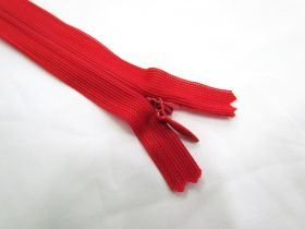 Great value Invisible Zip- Hot Red- 145 available to order online New Zealand