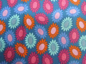 Great value Anna Maria Horner Cotton- Bright Eyes- Picky- Blue available to order online New Zealand