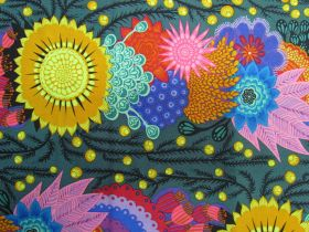 Great value Anna Maria Horner Cotton- Bright Eyes- Brimming- Pine available to order online New Zealand