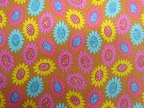 Great value Anna Maria Horner Cotton- Bright Eyes- Picky- Gold available to order online New Zealand